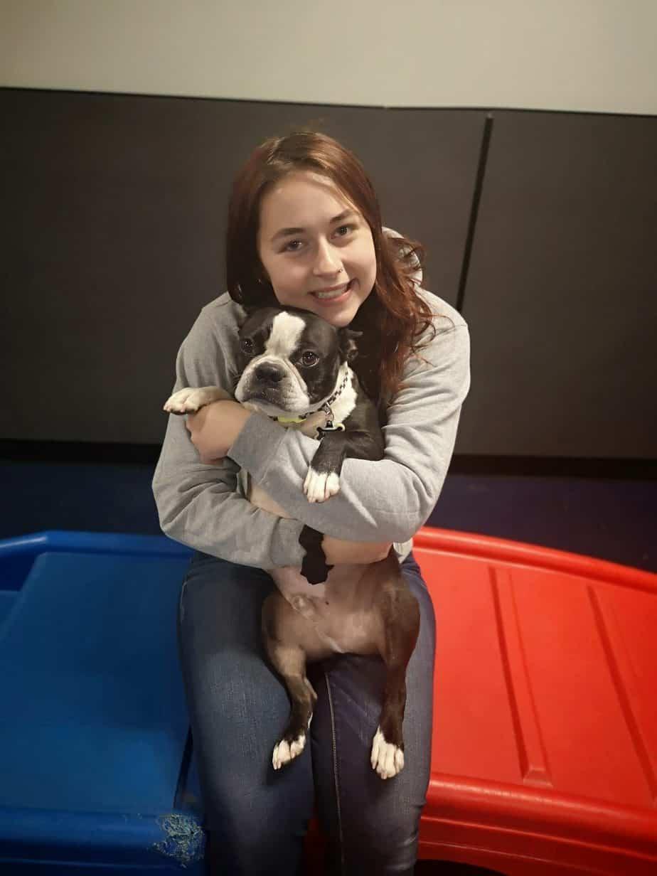Kelsey - K9HQ trainer in Victoria